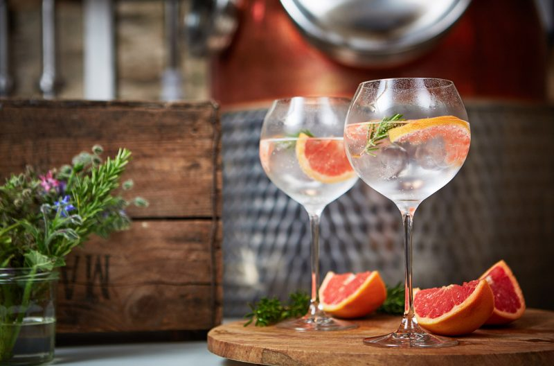 Penrhos Gin and Tonic