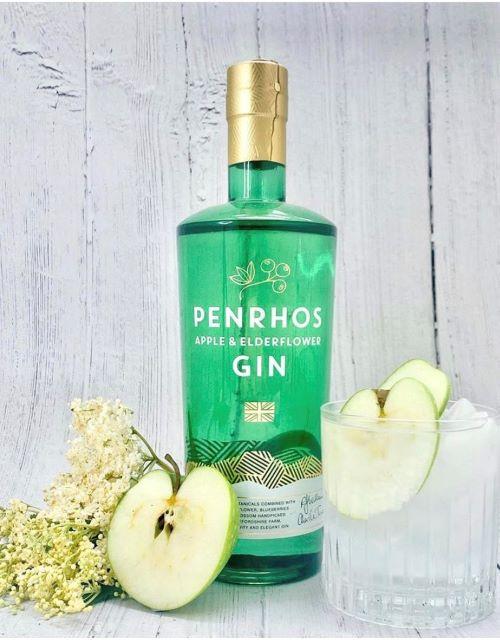 Penrhos Apple and Elderflower G&T