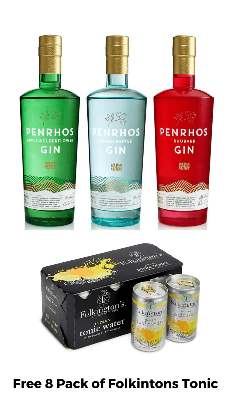 All 3 Penrhos Gins